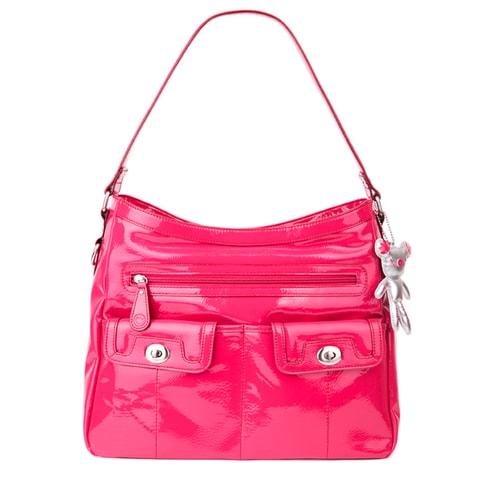 KATIE fuchsiová - kabelka pre maminky i prebaľovacia taška - Il ...